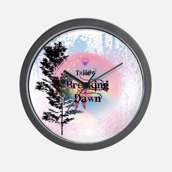 Breaking Dawn Rainbow Light Wall Clock