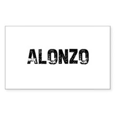 Alonzo Rectangle Decal