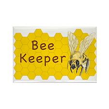 Bee Keeper Sticker Rectangle Magnet