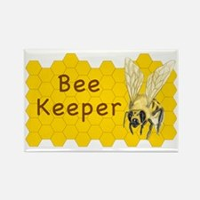 Bee Keeper Sticker Rectangle Magnet
