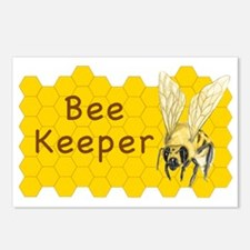 Bee Keeper Sticker Postcards (Package of 8)