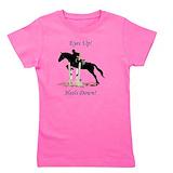 Horse Girl's Dark T-Shirt