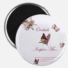 OrchidsInspire1a Magnet