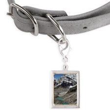 Himalayan landscape in Nepa Small Portrait Pet Tag