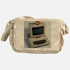 Apple II computer Messenger Bag