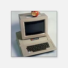 """Apple II computer Square Sticker 3"""" x 3"""""""