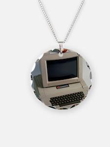 Apple II computer Necklace