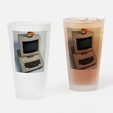 Apple II computer Drinking Glass