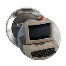 "Apple II computer 2.25"" Button"