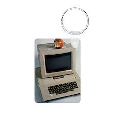 Apple II computer Keychains
