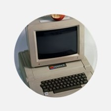 "Apple II computer 3.5"" Button"