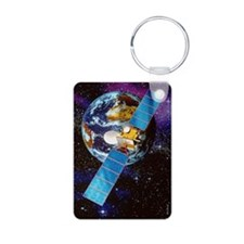 Artwork of a communication Keychains