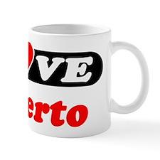 I Love Gilberto Mug