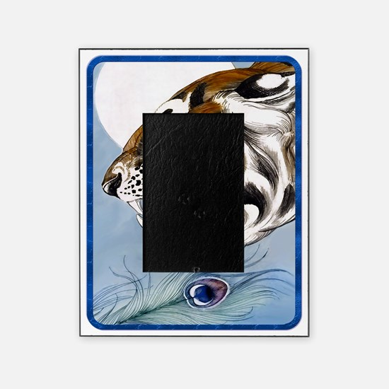 IPAD  Wild Tiger In Moonlight Picture Frame