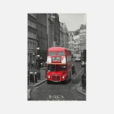 Cool London bus Rectangle Magnet