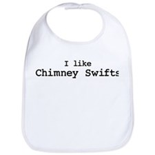 I like Chimney Swifts Bib