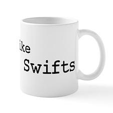 I like Chimney Swifts Mug