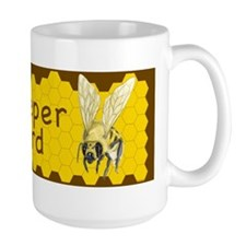 BUMPER STICKER-Bee Keeper on Board Mug