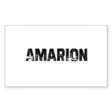 Amarion Rectangle Decal
