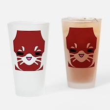 Red Panda sleepy face Drinking Glass