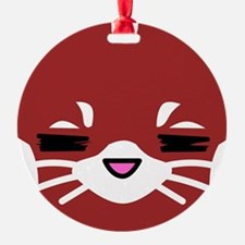 Red Panda sleepy face Ornament