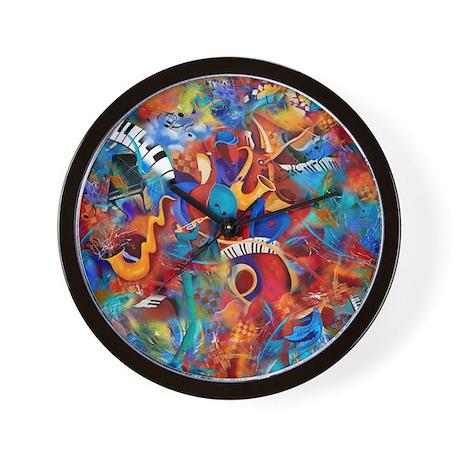 Musical Instruments Clocks Musical Instruments Wall Clocks