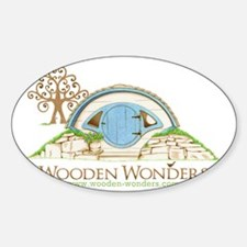 Woodshire Hobbit Hole Sketch Decal