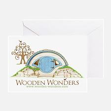 Woodshire Hobbit Hole Sketch Greeting Card