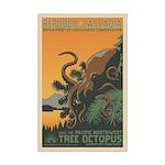 Tree Octopus WPA-Style Mini Poster