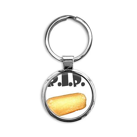 Twinker Round Keychain