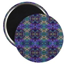 Luggage Handle Wrap - Cool Rainbow Glass Magnet