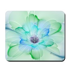 January Fractal Flower Mousepad