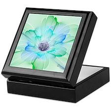 January Fractal Flower Keepsake Box