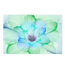 January Fractal Flower Postcards (Package of 8)