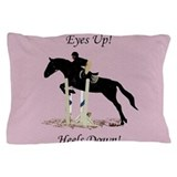 Jumping horses Pillow Cases