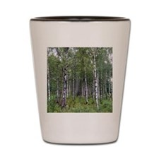 Birches Shot Glass