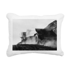 Dump Truck Rectangular Canvas Pillow