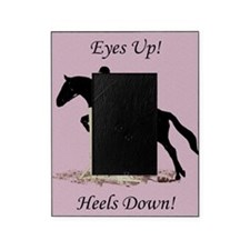 Eyes Up! Heels Down! Horse Picture Frame