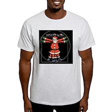 vitruvian-santa-TIL T-Shirt
