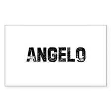 Angelo Rectangle Decal