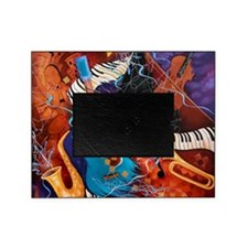 Jazz Supper Club Dreamy Guitar Piano Picture Frame