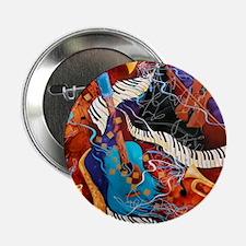 "Jazz Supper Club Dreamy Guitar Piano 2.25"" Button"