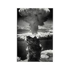 Atomic burst over Nagasaki, 1945 Rectangle Magnet