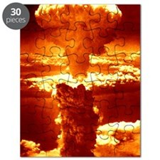 Atomic burst over Nagasaki, 1945 Puzzle