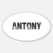 Antony Oval Decal