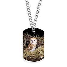 Barn owl Dog Tags