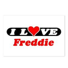 I Love Freddie Postcards (Package of 8)