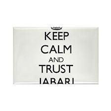 Keep Calm and TRUST Jabari Magnets