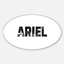 Ariel Oval Decal