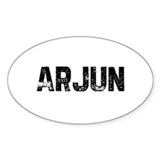 Arjun Oval Decal